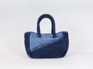 <Porter Classic/ポータークラシック>SASHIKO TOTE BAG S(New Blue)