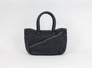 <Porter Classic/ポータークラシック>SASHIKO TOTE BAG S(Black)
