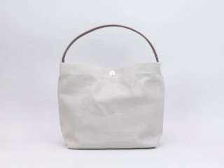<MARINEDAY/マリンデイ>LINEN CANVAS/MINIFISH(Kinari×Chocolate)