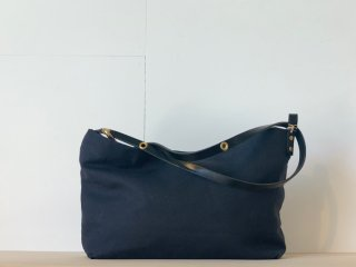 <MARINEDAY/マリンデイ>LINEN CANVAS/FOURSHIP(Black)