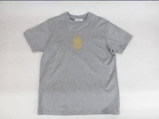 <L&HARMONY MEN/エルアンドハーモニーメン>ハイクルーネックプリントTシャツ