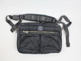 <Porter Classic/ポータークラシック>S/N SHOULDER BAG M(Black)