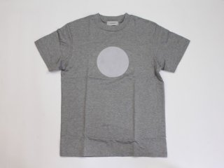 <L&HARMONY WOMEN/エルアンドハーモニーウーマン>ハイクルーネックプリントTシャツ●(Gray)