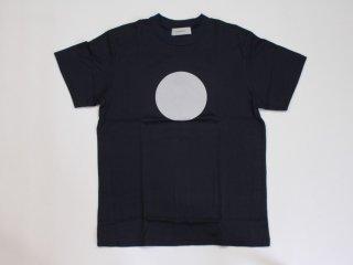 <L&HARMONY MEN/エルアンドハーモニーメン>ハイクルーネックプリントTシャツ●(Navy)