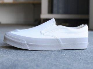 <Asahi/アサヒ>ASAHI DECK SLIP-ON(White×Gray)