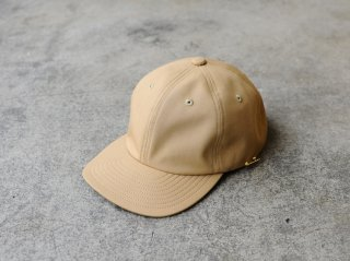 <MAISON Birth/メゾンバース>CORDURA 6P CAP(Beige)