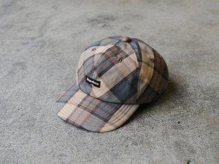 <ShareTone/シェアトーン>LOGO CHECK CAP(Beige)