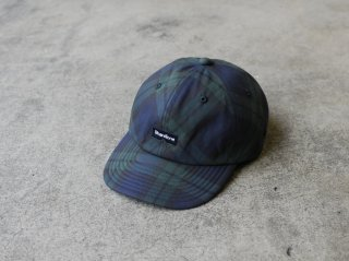 <ShareTone/シェアトーン>LOGO CHECK CAP(Navy)