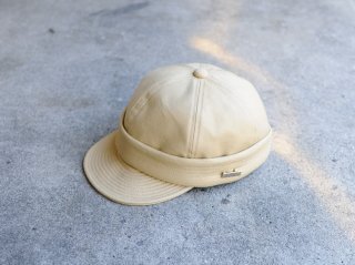 <MAISON Birth/メゾンバース>2WAY ROLL CAP(Beige)