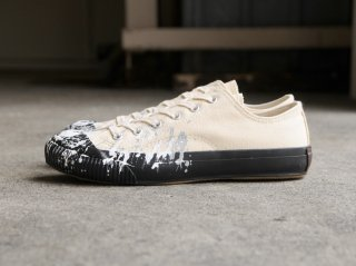 <PRAS/プラス>SHELLCAP LOW DROP PAINT(Kinari×Black)