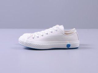 <SHOES LIKE POTTERY/シューズライクポタリー>LOW LEATHER(White)