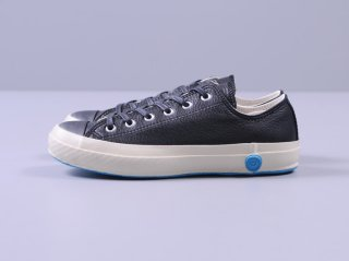 <SHOES LIKE POTTERY/シューズライクポタリー>LOW LEATHER(Black)