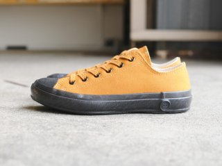 <SHOES LIKE POTTERY/シューズライクポタリー>LOW VULCANIZED CLOTH(Brown)