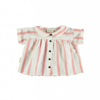 <img class='new_mark_img1' src='https://img.shop-pro.jp/img/new/icons24.gif' style='border:none;display:inline;margin:0px;padding:0px;width:auto;' />piupiuchick/Peter Pan collar blouse/Red stripes