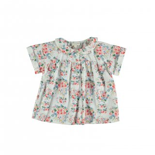 <img class='new_mark_img1' src='https://img.shop-pro.jp/img/new/icons24.gif' style='border:none;display:inline;margin:0px;padding:0px;width:auto;' />piupiuchick/Peter Pan collar blouse/Flowers