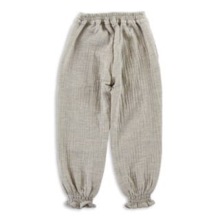 <img class='new_mark_img1' src='https://img.shop-pro.jp/img/new/icons24.gif' style='border:none;display:inline;margin:0px;padding:0px;width:auto;' />Olivier Baby and Kids/Harper Trousers/Light Grey Muslin