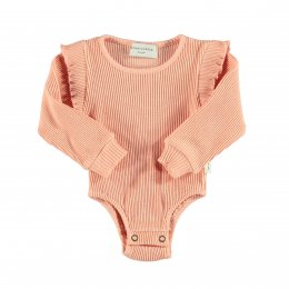 <img class='new_mark_img1' src='https://img.shop-pro.jp/img/new/icons24.gif' style='border:none;display:inline;margin:0px;padding:0px;width:auto;' />piupiuchick/RIBBED LONGSLEEVE BODY/Coral