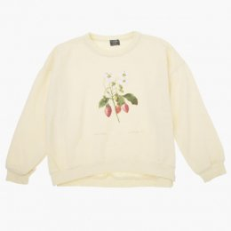 <img class='new_mark_img1' src='https://img.shop-pro.jp/img/new/icons24.gif' style='border:none;display:inline;margin:0px;padding:0px;width:auto;' />Tocoto Vintage/  Strawberry plant drawing sweatshirt