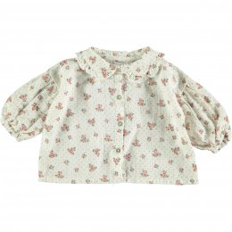 <img class='new_mark_img1' src='https://img.shop-pro.jp/img/new/icons24.gif' style='border:none;display:inline;margin:0px;padding:0px;width:auto;' />Tocoto Vintage/Flower print blouse/Off-white
