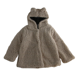 <img class='new_mark_img1' src='https://img.shop-pro.jp/img/new/icons24.gif' style='border:none;display:inline;margin:0px;padding:0px;width:auto;' />Tocoto Vintage/ Ears hood faux fur coat/Beige
