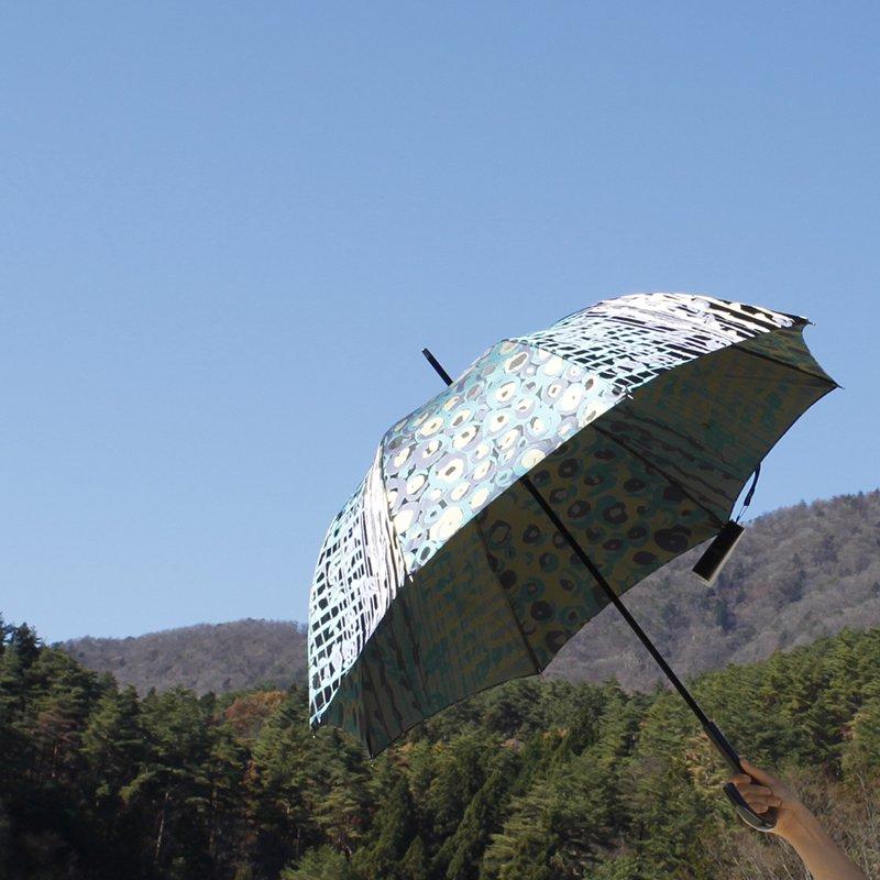 傘 【バラの花束】 (ブラック)
