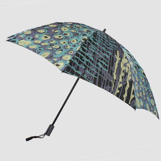 折りたたみ傘 【バラの花束】 (ブラック)