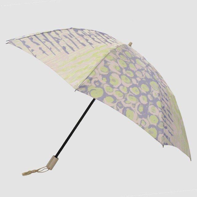 折りたたみ傘 【バラの花束】 (ラベンダー)