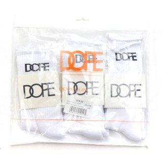 Classic Logo Socks (3-Pack) White