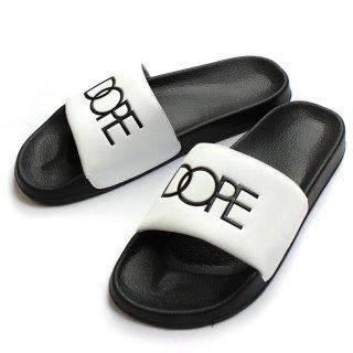 Slide Sandale White/Black