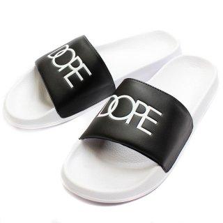Slide Sandale Black/White