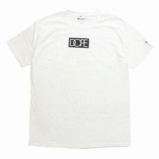 Dope×Champion S/S Tee White