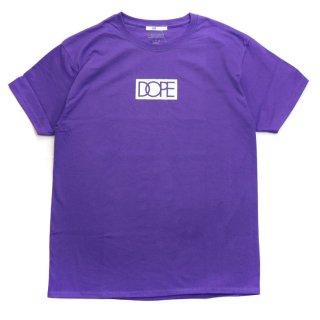 Dope×Champion S/S Tee Purple