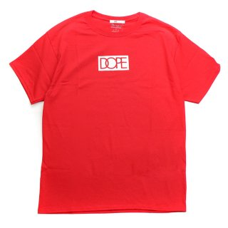 Dope×Champion S/S Tee Red