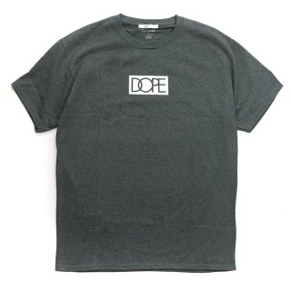 Dope×Champion S/S Tee Charcoal Grey