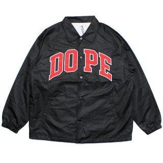Dope Sport D-Wing Coach Jacket Black