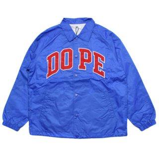 Dope Sport D-Wing Coach Jacket Blue