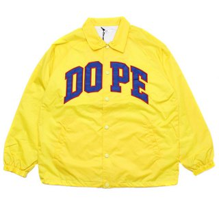 Dope Sport D-Wing Coach Jacket Yellow