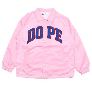 Dope Sport D-Wing Coach Jacket Pink