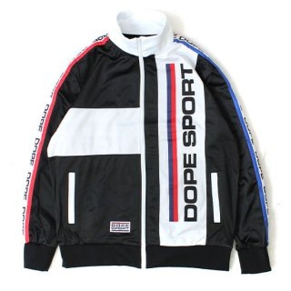 Dope Sport Training Day Track Jacket Black