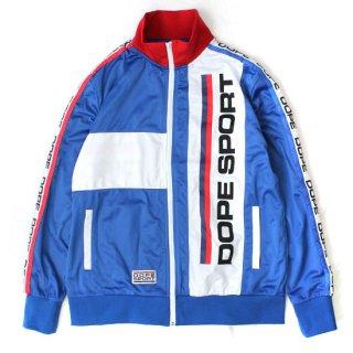 Dope Sport Training Day Track Jacket Blue