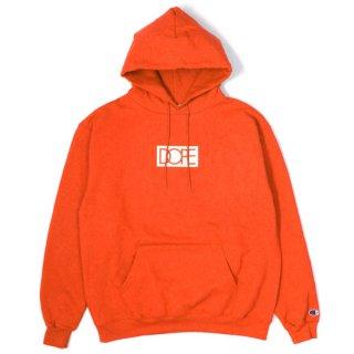 Box Logo Dope × Champion Hoodie Orange