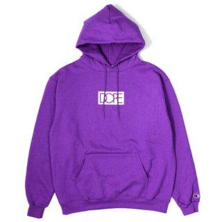 Box Logo Dope × Champion Hoodie Purple