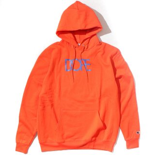 Classic Logo Dope×Champion Hoodie Orange