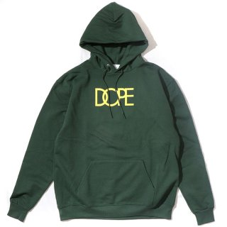 Classic Logo Dope×Champion Hoodie Dk.Green