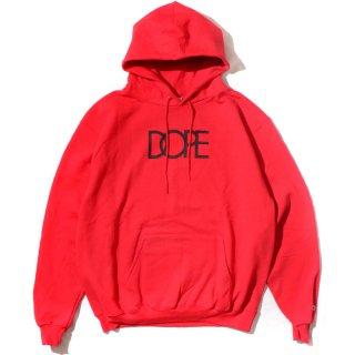 Classic Logo Dope×Champion Hoodie Scarlet
