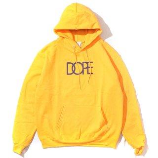 Classic Logo Dope×Champion Hoodie Gold