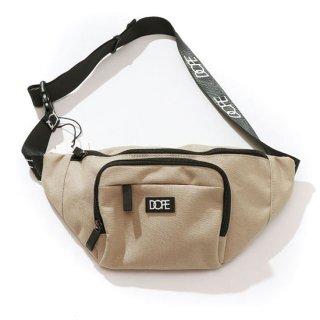 Box Logo Body Bag Tan