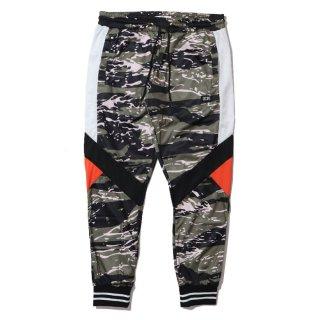 Sprinter Track Pants Black/Camo/Orange