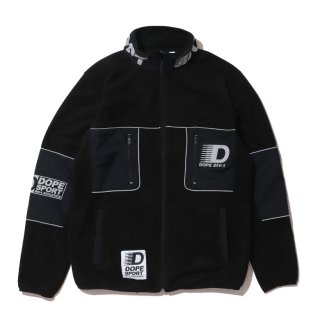 Apex Tech Fieece Jacket Black