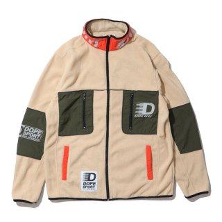 Apex Tech Fieece Jacket Tan